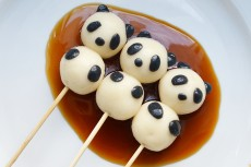Panda dango cooking course
